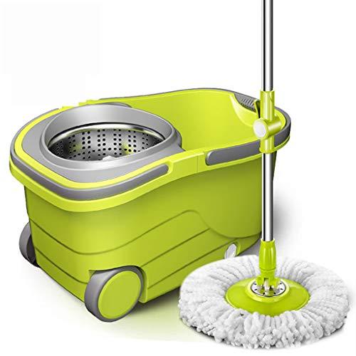 Chengxin Bodenwischer Suspendierungseimer intelligenter Mopp mit Radumdrehung, kornloser Mopp, Reinigungsbesen, Reinigungsboden, Haus, Autowerkzeug Bodenwischer