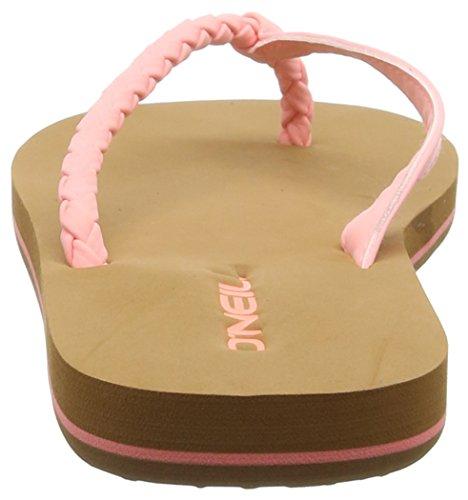 O'Neill Fw Queen, Tongs femme Pink (Neon Tangerine Pink 3350)