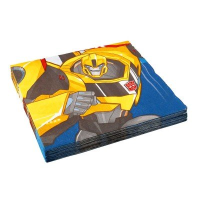 Amscan International 990130433cm Transformers Robots In Disguise Serviette
