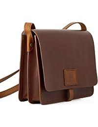 StilGut® Ricordi, sac à main vintage authentique en cuir italien haut de gamme