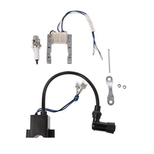 Brucelin - Bobina di accensione Cdi Magneto per la candela di accensione motorizzata per bicicletta di motore da 49 cc, 66 cc, 80