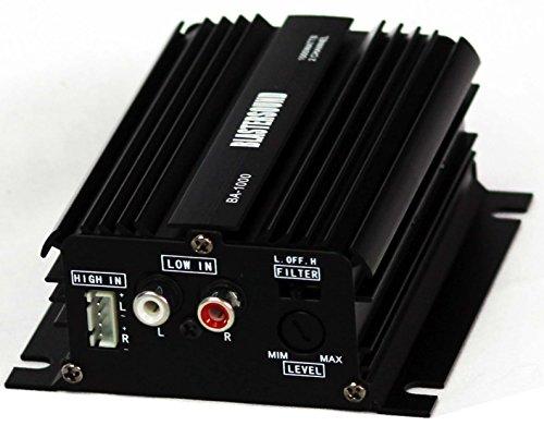 Mini etapa de potencia / Amplificador de 2 canales - 12v - Para coche o moto.