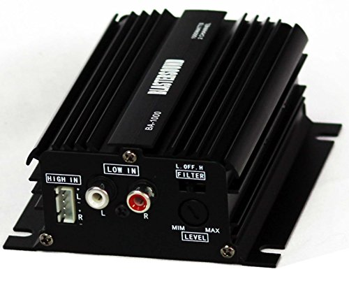Foto de Mini etapa de potencia / Amplificador de 2 canales - 12v - Para coche o moto.