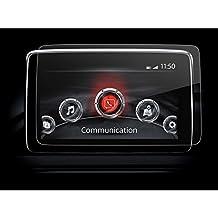 LFOTPP Mazda 2 3 2017/CX-3 2014-2016/MX-5 RF 7pulgadas Navegación–Protector de pantalla para 9H Resistente a los arañazos–Antihuellas Sistema de navegación Protector de pantalla GPS Navi–Protector de pantalla