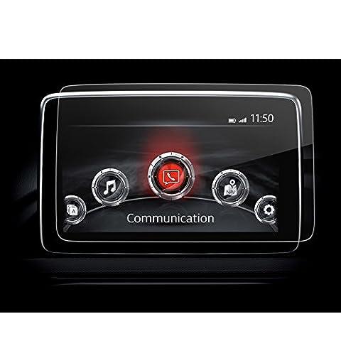 LFOTPP Navigation Schutzfolie für Mazda 2 2017 / Mazda 3 2014-2017 / CX-3 / MX-5 RF (7 zoll)