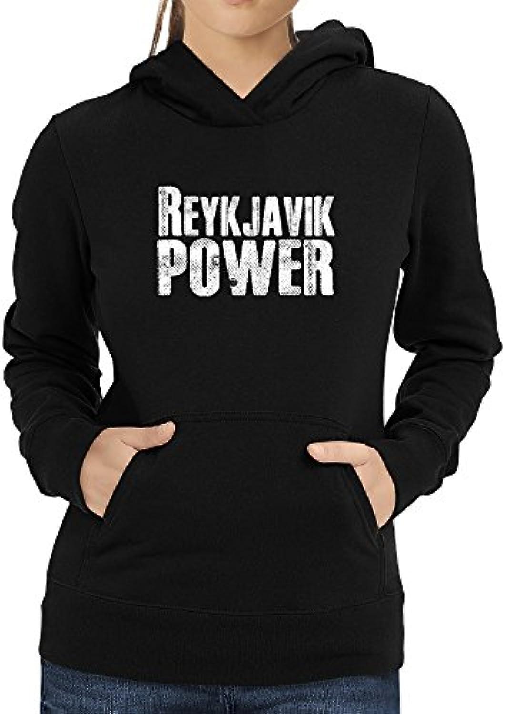 Eddany Reykjavik power donna Felpa con cappuccio da donna power 96db06 81f6652cd25