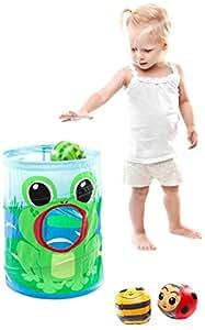 Babytolove - 370572 - Jeu De Balle À Lancer - Frogball
