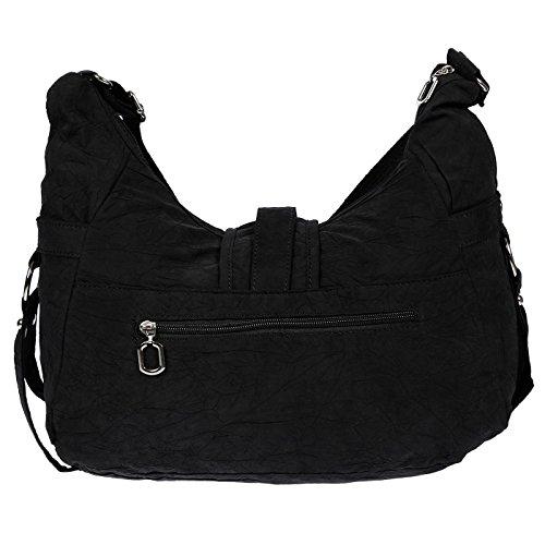 Christian Wippermann große Damenhandtasche Schultertasche aus Canvas Beige Beige