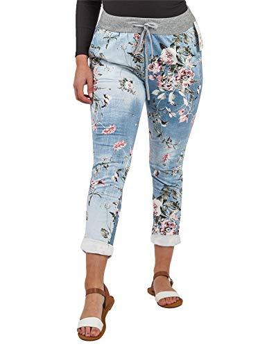 Love My Fashions Esmai Floral Print Pocket Drawstring Trouser -