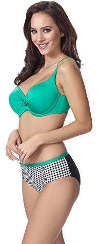 Merry Style Modellante Corpo Push Up Bikini per Donna F10A Motivo-202