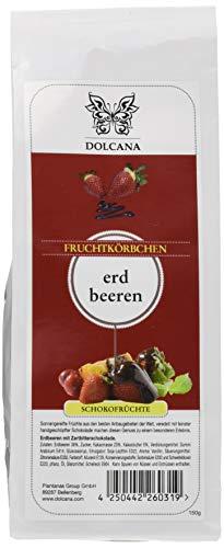 Dolcana Schokofrchte - Erdbeeren in Zartbitterschokolade 2er Pack (2 x 150 g Packung)