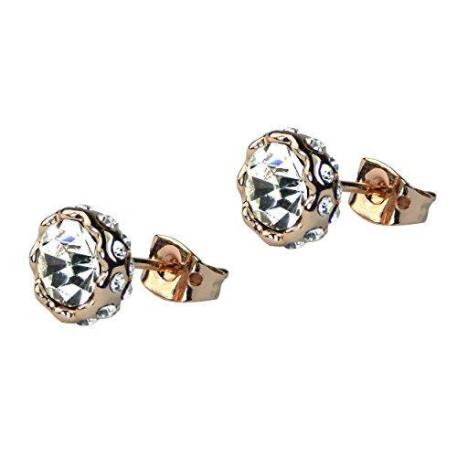 plaque-or-rose-cristal-autrichien-boucles-doreilles-clous-strass-9-mm