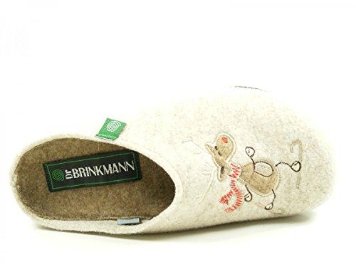 Dr. Brinkmann 320453-4 donna slippers Beige