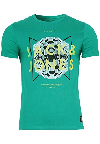 jack-jones-t-shirt-jjcoaction-tee-crewneck-grosselfarbepepper-green