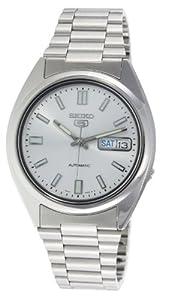 Reloj Seiko SNXS73 de caballero automático con correa de acero inoxidable plateada - sumergible a 30 metros de Seiko
