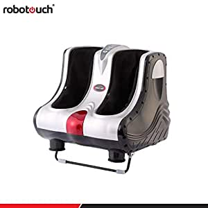 Robotouch Reflexo Leg Foot Massager and Calf Massager With Heat and Sole Rollers