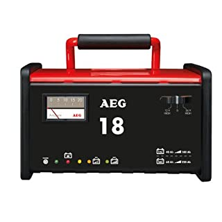 AEG 97010 Workshop charger WM 18 A for 12 V and 24 V batteries, CE, IP 20