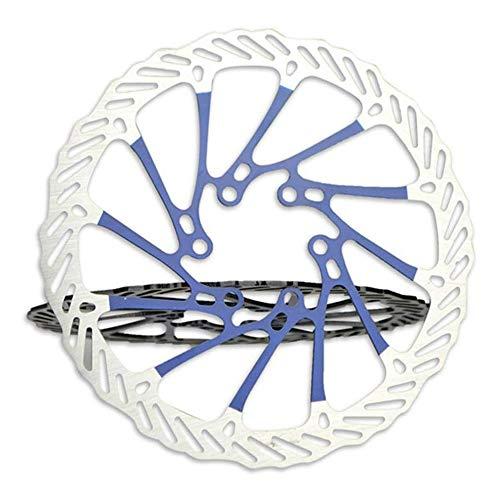 VOANZO Frenos de Disco de Bicicleta Rotor DE Disco de 160 mm, Acero Inoxidable, 6 Pernos Frenos de Disco...
