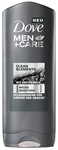 Dove Men+Care Duschgel Clean Elements 250 ml, 6er Pack (6 x 250 ml)