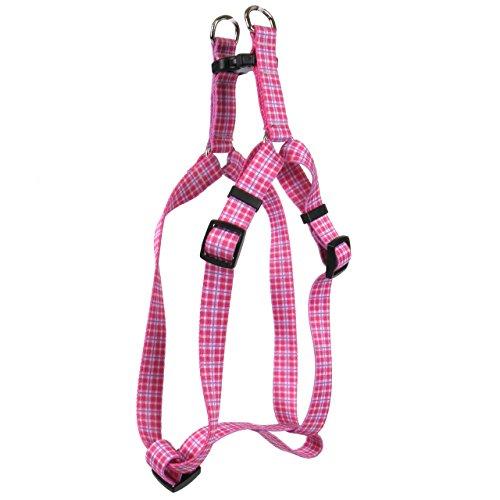 eppy Plaid Pink Step-in Hundegeschirr ()