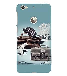 PrintVisa Cool Boy 3D Hard Polycarbonate Designer Back Case Cover for LeEco Le 1S