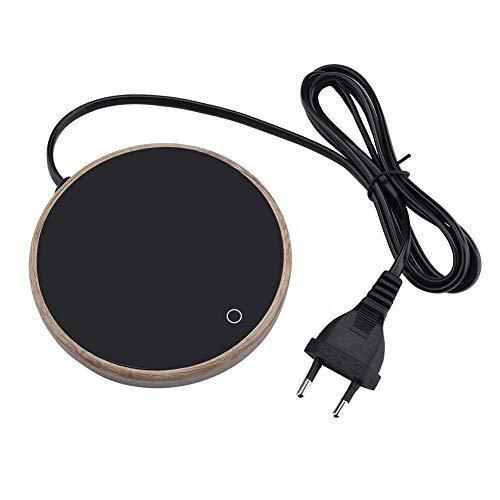 er Wärmer elektrischer Tassenwärmer tasse wärmer pad glasscheibe temperatur einstellbar für Büro Zuhause(EU) ()