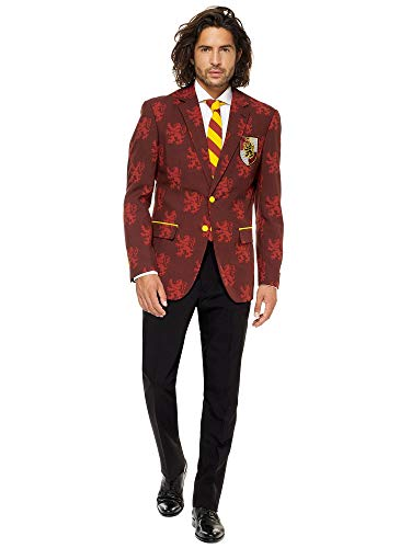 Opposuits Licensed Halloween Costumes for Men - Full Suit: Jacket, Pants and Tie, Harry Potter,46 (Verrückt Mens Suits)