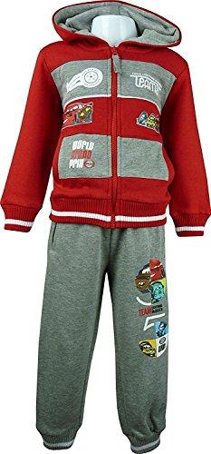 Disney Cars Lightning McQueen Niños Chándal / Jogging Conjunto Rojo