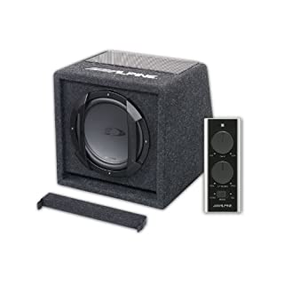 Alpine SWE-Sound-System für Kfz, Schwarz