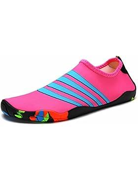 Eagsouni Zapatos de Agua Unisex Hombre Mujer Niña Niños Calzado de Natación Secado Rápid para Buceo Snorkel Surf...