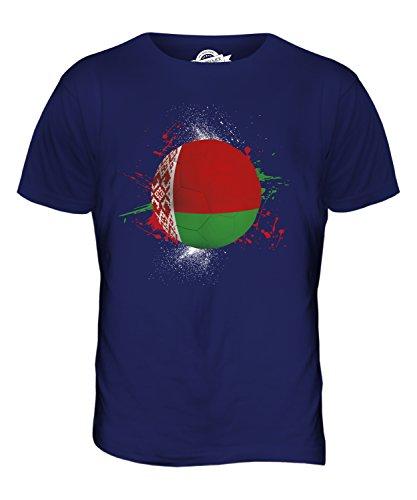 CandyMix Weißrussland Fußball Herren T Shirt Navy Blau
