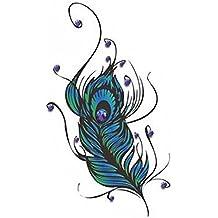 2 pièces Plaquettes Autocollants Tatouages Faux Tatouages Tatouages Temporaires Tatouages Temporaire