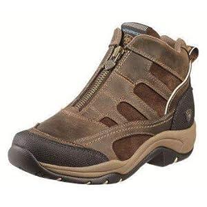 ARIAT Terrain Zip H20 Paddock & Yard Boots Distressed Brown