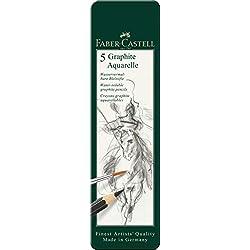 Faber-Castell 117805 - Lápices, 5 unidades