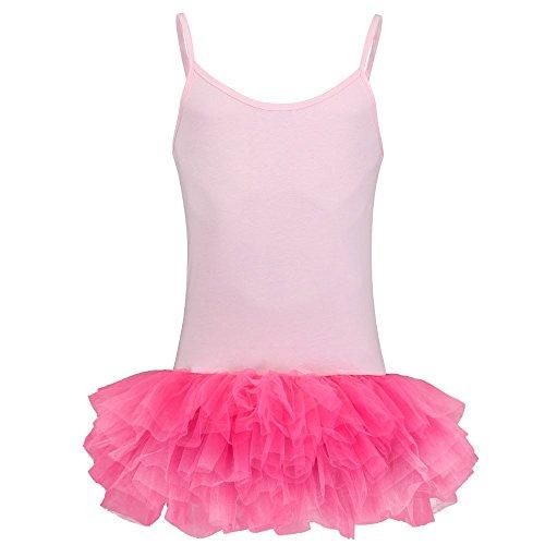 Partybob Männerballett Kostüm - Herren Ballerina Kleid (Rosa / Pink, M)