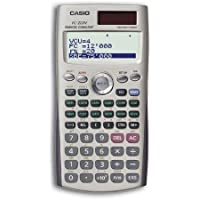 Casio FC-200V - Calculadora de bolsillo, plástico, 80 x 161 x 12,2 mm