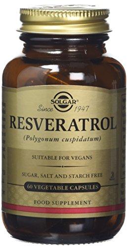 Solgar Resveratrol Vegetable Capsules - 60 Capsules Test