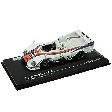 Modellauto Porsche 936 - 24-Stunden-Rennen von Le Mans 1976 (1:43) - weiß / orange / blau