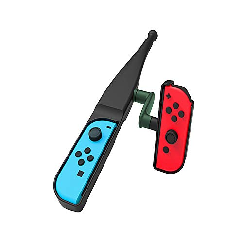 Goolsky Angelrute für Nintendo Switch Joy-Con Zubehör,Angelspiel Kit für Switch Joy-Con Controller