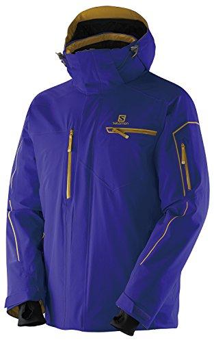 Herren Outdoor Jacke Salomon Brillant Jacket Spectrum Blue