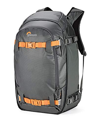 Lowepro LP37227-PWW Whistler BP 450 AW II Outdoor Rucksack (geeignet für jede Jahreszeit für Pro DSLR and Spiegellose Kameras, Laptop und Outdoor Equipment), schwarz Lowepro Dslr Video