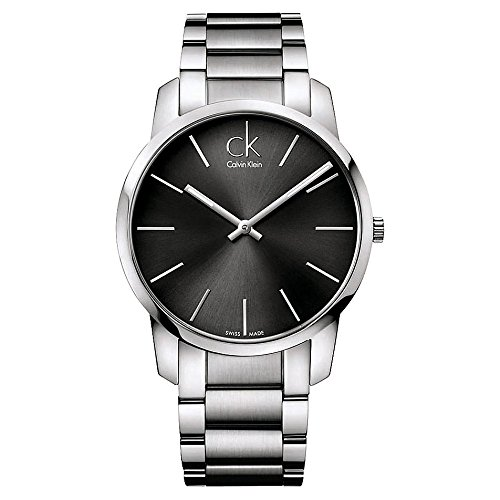 Calvin Klein Men's Analogue Quartz Watch with Stainless Steel Bracelet – K2G21161