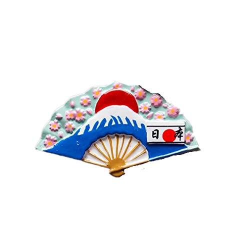 Bella Magnet Frigo Aimant Frigo Aimant Réfrigérateur Décor Voyage Vacances Souvenir de Le Japon Mont Fuji Sakura Fan Fridge Magnet Sticker
