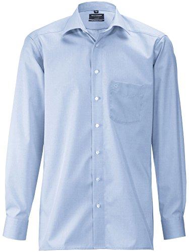 OLYMP Herren Hemden Modern Fit Blau