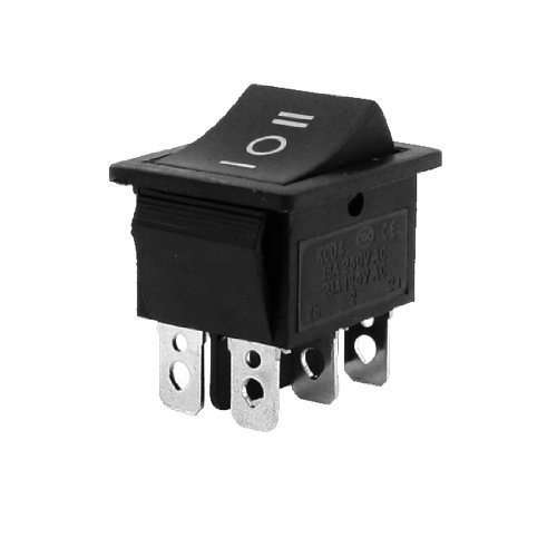 SODIALR Interruptor Basculante 6-Terminales 3 Posicion