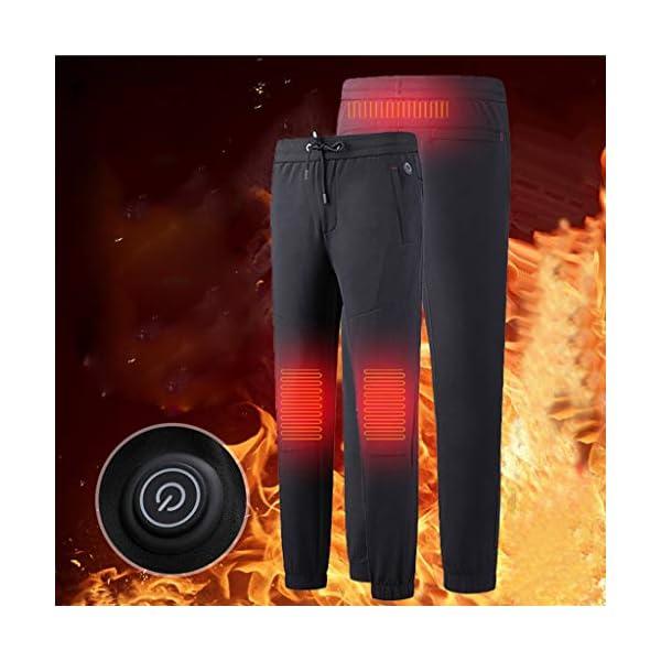 Shenye - Pantalones térmicos para niños de 3 a 9 años, con calefacción por USB, para niños Grandes y niñas, para… 3