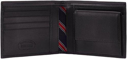 Tommy Hilfiger ETON CC AND COIN POCKET BM56924735 Herren Geldbörsen 13x10x2 cm (B x H x T) Schwarz (BLACK 990)