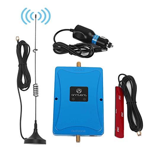 ANNTLENT Autotelefon Signal Booster Repeater 4G LTE Band 20 Band 7 800/2600 MHz Fahrzeug Handy Signalverstärker für Van/Auto/LKW/Boot