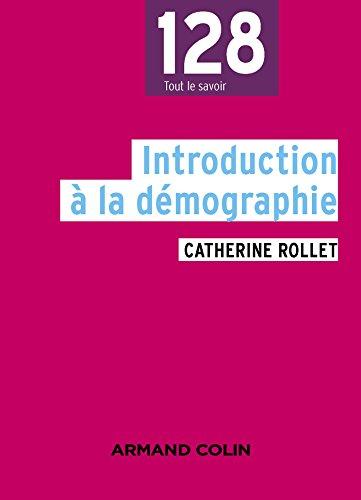 Introduction à la démographie - 3e éd.