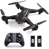 Drone VISUO XS809S -WiFi FPV- 720P -Modo de Espera- RC Quadcopter Drone visuo -Lente Gran Angular con dos baterias